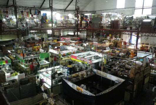 Mercado Hidalgo - vue de l'étage