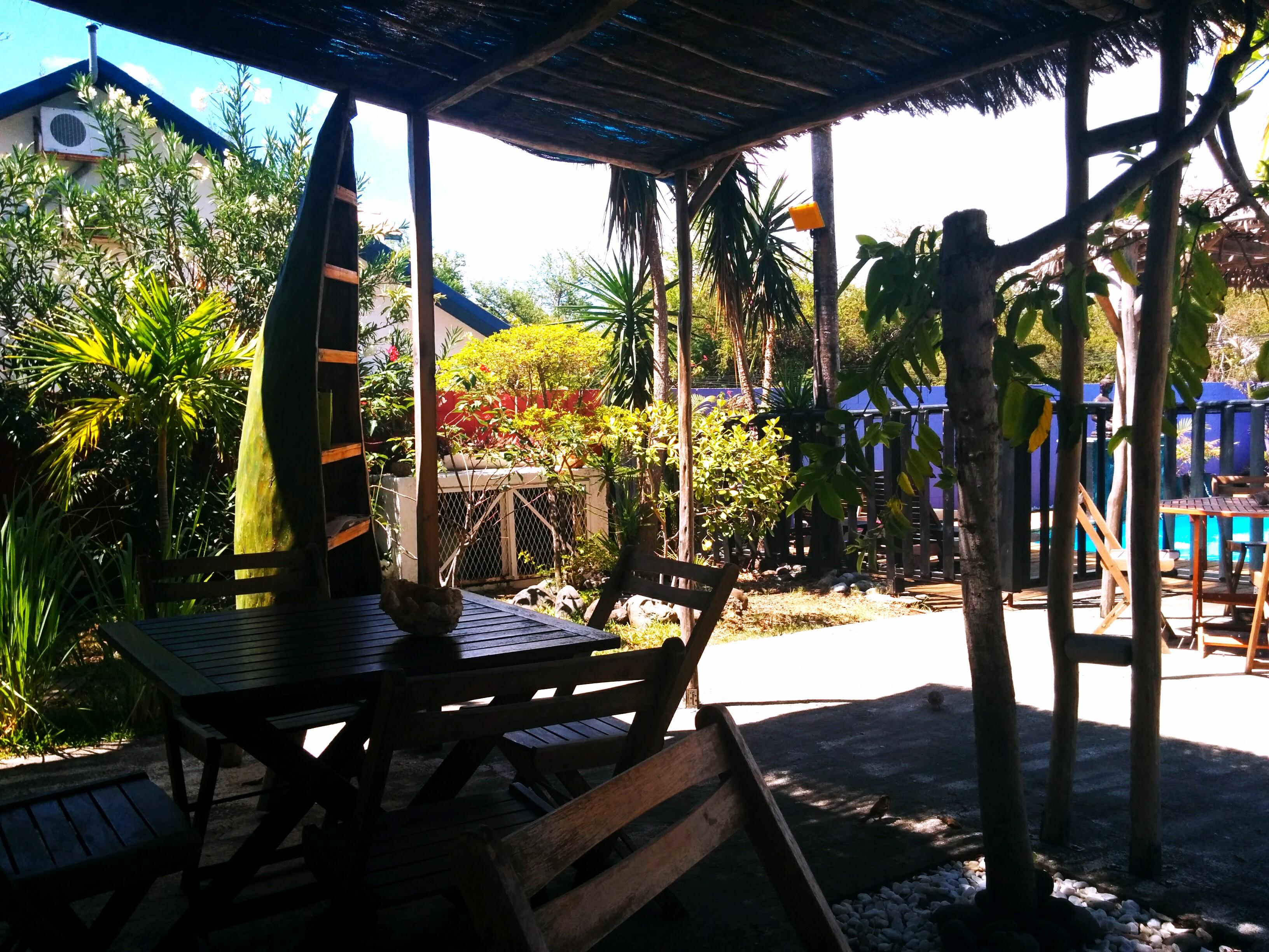Terrasse du Vacoa - détente totale