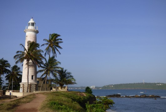 Le phare Galle