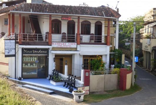 La place Vendôme cinghalaise