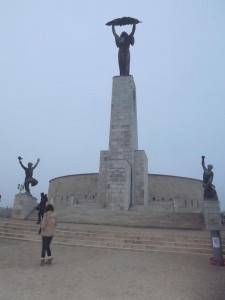 Statue de la liberté - Mont Gellért