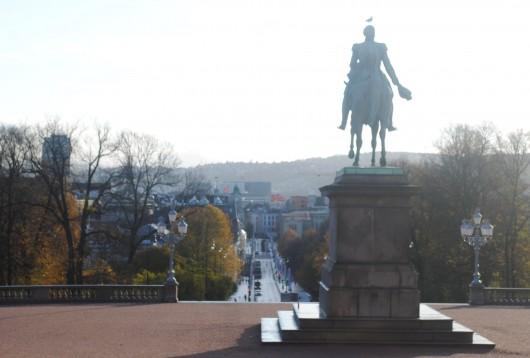 Vue depuis le palais royal