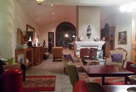 Le salon de l'hôtel Berg à Keflavik