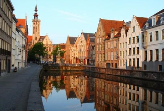 Les Canaux - Vieille ville de Bruges