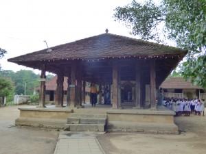 Le temple d'Embekke