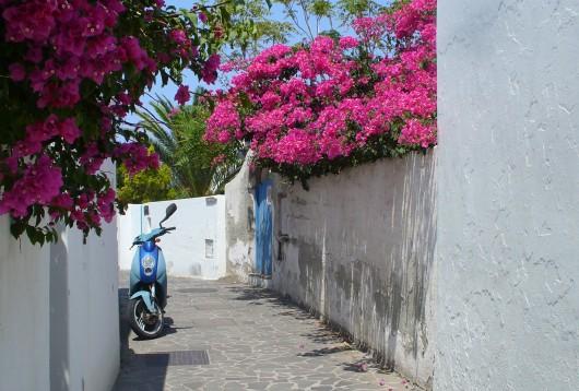 Une des ruelles du village