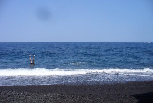 Une plage idéale pour le farniente...