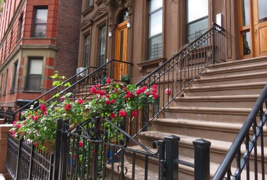 Une des rues d'Harlem