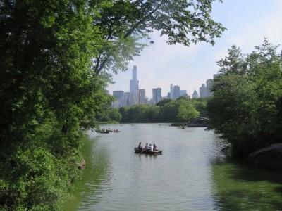 The Lake avec ses fameuses barques