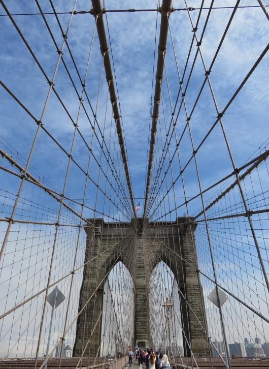 La beauté du Brooklyn Bridge