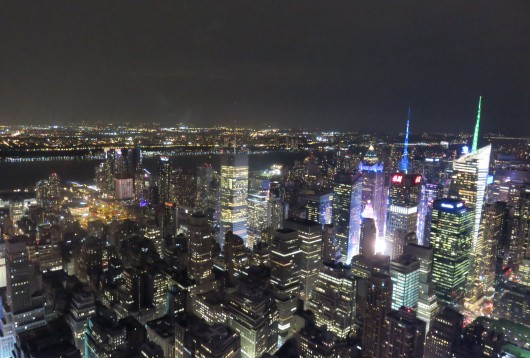 Un aperçu de Times Square