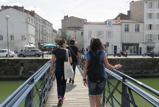 Direction la rue St Nicolas ;)