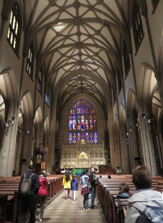L'intérieur de Trinity Church