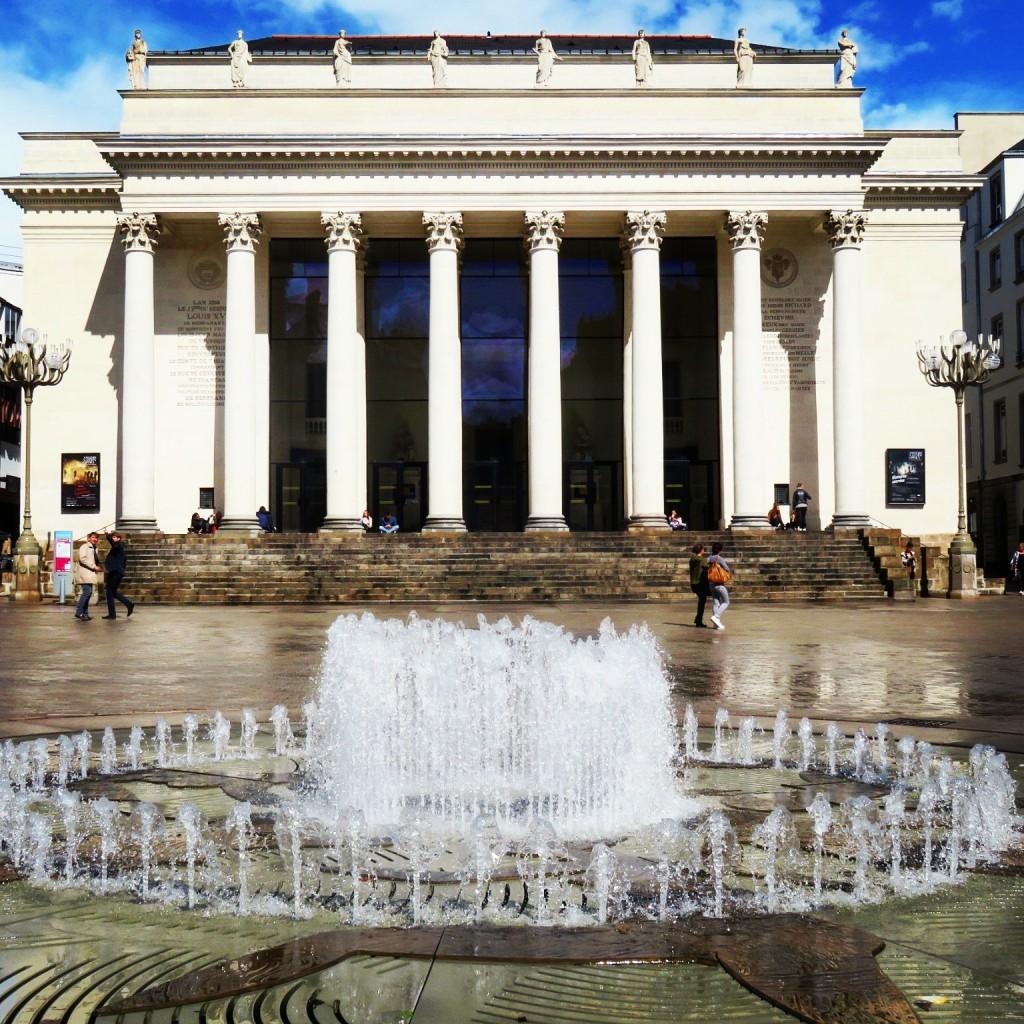 Place Graslin et son opéra