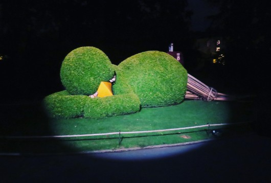 Sculpture du jardin des plantes