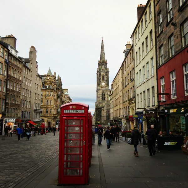 Sur le Royal Mile